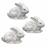 Andrea by Sadek 3 Assorted Rabbit Banks Polka Dots