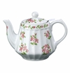"Andrea by Sadek 6"" H Apple Bliss Teapot with Mesh Strainer"
