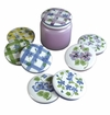 "Andrea by Sadek 8 Assorted 3.75"" D Candle Covers"
