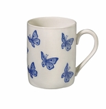 Andrea by Sadek Blue Butterflies Mugs (4)