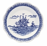 Andrea by Sadek Blue Export Dinner Plates (Set of 2)