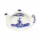 Andrea by Sadek Blue Export Teapot Teabag Holders (Set of 12)