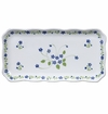 Andrea by Sadek Blue Forget-Me-Not Oblong Tray