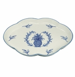 Andrea by Sadek Blue Pineapple Serving Tray