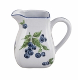 Andrea by Sadek Blueberries Square Creamer