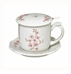 Andrea by Sadek Covered Mug Cherry Blossoms