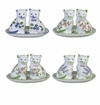 Andrea by Sadek Floral Cat Salt and Pepper Shakers (Set of 4 Assorted)