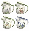Andrea by Sadek Floral Chicken Creamer Pitchers (Set of 4 Assorted)