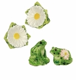Andrea by Sadek Frog and Daisy Salt and Pepper Set