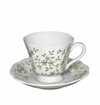 Andrea by Sadek Garden Bouquet Cup and Saucers (Set of 4)