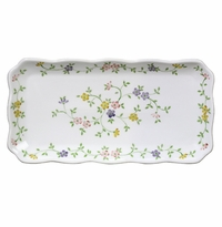 Andrea by Sadek Garden Bouquet Oblong Tray