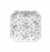 Andrea by Sadek Garden Bouquet Square Plates (Set of 4)