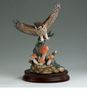 Andrea by Sadek Great Horned Owl Figurine