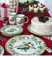 Andrea by Sadek Holiday Dinnerware - Save 50%