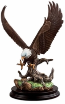 Andrea by Sadek Open Winged Eagle Figure