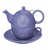 Andrea by Sadek Peony Tea for One Set - Purple