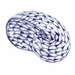 Andrea by Sadek Porcelain Blue Net Oval Seashell