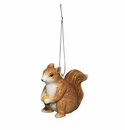 Andrea by Sadek Porcelain Squirrel & Nut Ornament