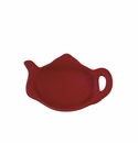 Andrea by Sadek Red Teapot Shaped Tea Bag Holders (12)