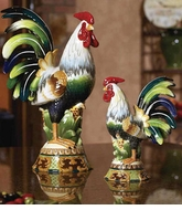 Andrea by Sadek Rooster & Chicken Statues - Save 25%