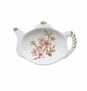 Andrea by Sadek Teapot Shape Teabag Holder Cherry Blossom (12)
