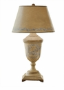 Antique Beige And Blue Urn Lamp (3 Way And 150W ) Home Decor