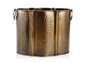 Antique Brass Planter Home Decor