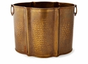 Antique Brass Planter - Large Home Decor