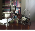 Antique Silver Chalice Home Decor