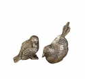 Antique Silver Chicks Home Decor