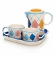 Argyles Tea or Coffee Service for Two by Hues & Brews