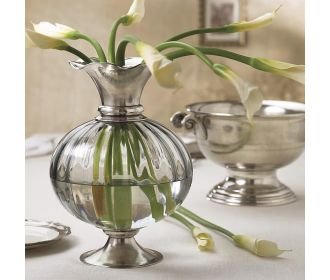 Arte Italica Giovanna Glass Amp Pewter Collection