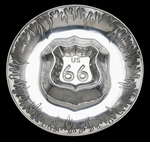 Arthur Court Designs American Route 66 Metalware