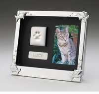 Arthur Court Designs Cat Keepsake Shadow Box