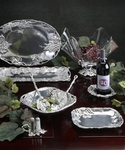 Arthur Court Designs Grape Metalware