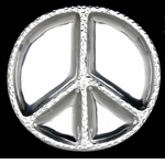 Arthur Court Designs Peace Metalware