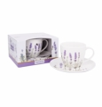 Ashdene Bone China Teacup & Saucer  I Love Lavender