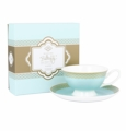Ashdene Bone China Teacup & Saucer - Tiffany - Madame Butterfly Tea Party