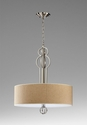 Auburn Raw Cotton Pendant Light by Cyan Design