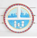Baby Cie Family Love Round Sectioned Plate