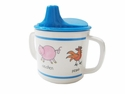Baby Cie Farm Animal Melamine Child's Sippy Cup