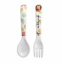 Baby Cie King Of The Jungle Fork & Spoon Set