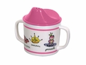 Baby Cie Princess Melamine Child's Sippy Cup