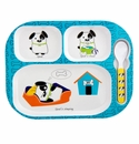 Baby Cie Spot Child's Tray, Spoon & Cover Set