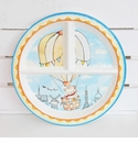 Baby Cie Up In The Air Round Sectioned Plate
