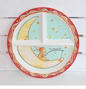 Baby Cie Wish On A Star Round Sectioned Plate