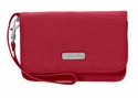 Baggallini Apple Flap Wristlet Wallet with RFID Shield