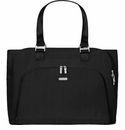 Baggallini Black Errand Tote Laptop Bag With Sand Lining