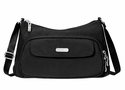 Baggallini Black Everyday Crossbody Bag With Sand Lining
