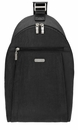 Baggallini Black Glide Sling Bag With Sand Lining